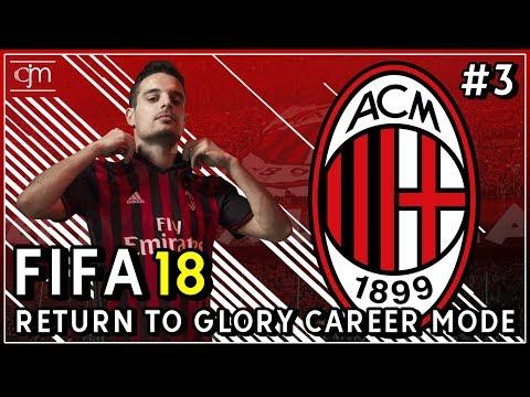 FIFA 18 AC Milan Career Mode: Laga Uji Coba Lawan Sporting CP & Arsenal #3