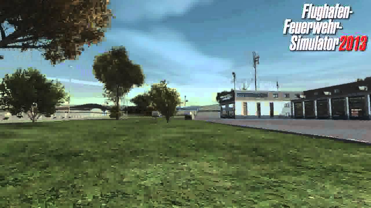 flughafenfeuerwehr simulator demo