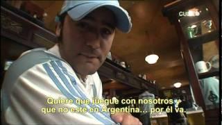 Jodita del CQC español a los hinchas argentinos