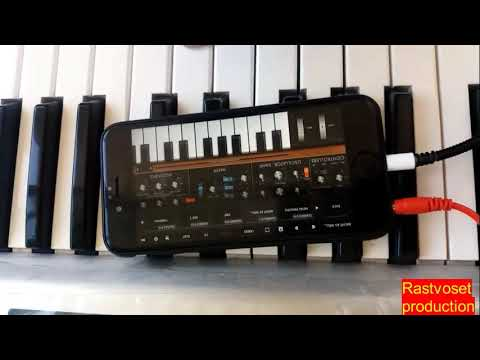 Armenian Keyboard - IPhone Midi To Roland X6