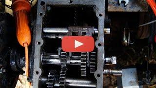 Ремонт і модернізація КПП Мототрактора DW 1120