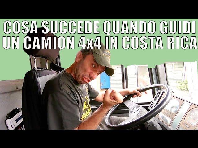 Cosa succede quando guidi un camper 4x4 in Costa Rica | giro del mondo in camion