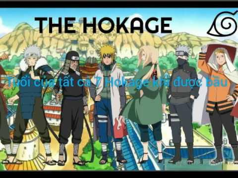 Tuổi của Tất cả 7 Hokage khi được bầu - WIKIA