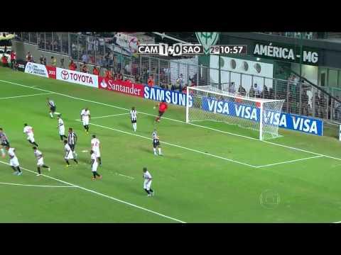 Jogo completo - Atlético MG 4 x 1 São Paulo - Oitavas - Jogo de volta -  Copa Libertadores 2013