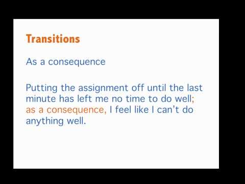 Cause and Effect Paragraphs: Effect Paragraph