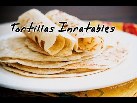 tortilla-mexicaine-inratable,-fait-maison---homemade-tortilla---خبز-التورتيلا-(tacos,-fajitas)
