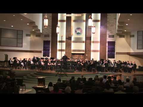 Austin Symphonic Band Performing A Little Tango Music  Adam Gorb