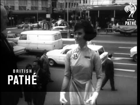 International Air Hostesses In Sydney (1966)