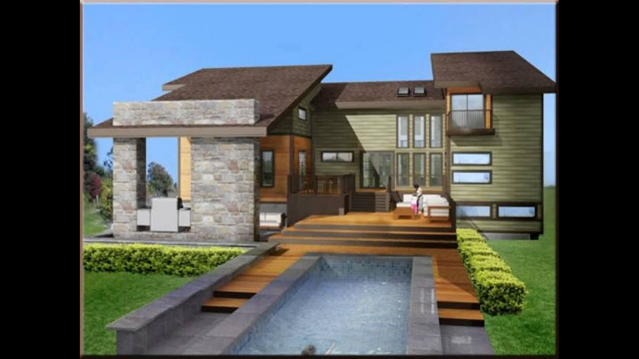 Youtube for Contemporary home plans 2015