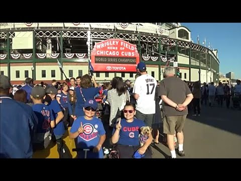 Wrigley Field Vlog 2016 World Series Champions