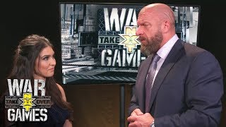 Triple H says WarGames Match was taken to the next level: Exclusive, Nov. 18, 2017