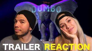 DUMBO-TEASER TRAILER REACTION