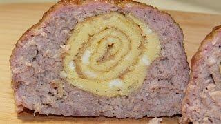 Мясные зразы с начинкой. Вкусные мясные блюда