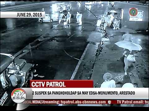 Sapul sa CCTV: 2 holdaper sa Monumento, kalaboso