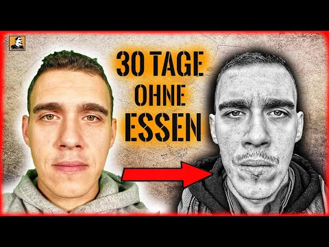 30 TAGE OHNE ESSEN - Das Selbstexperiment | Survival Mattin