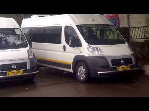 Luxury Minivan Bus Hire New Delhi ( Fiat Ducato Van )