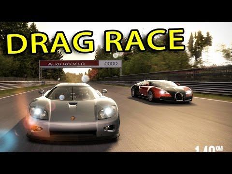NFS Shift - Bugatti Veyron vs Koenigsegg CCX