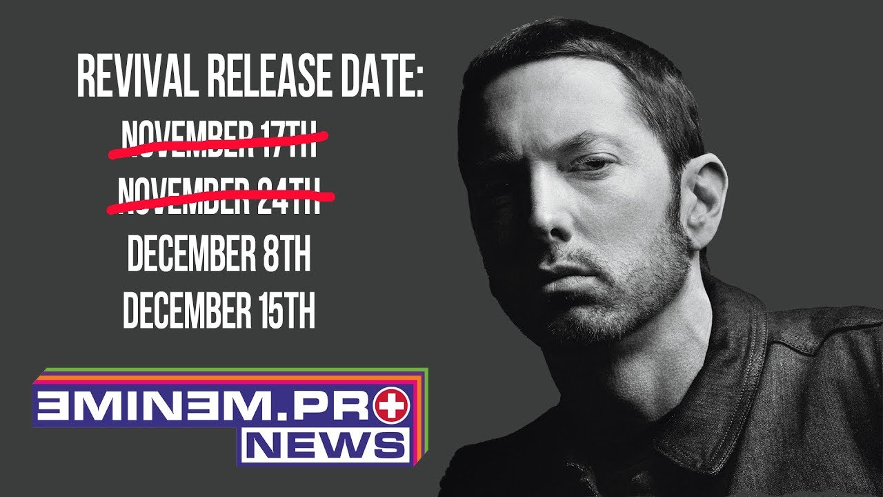 Eminem Revival Leaked >> ePro News 32: When is Eminem dropping Revival? Target leaked the release date? - YouTube