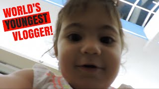 World's YOUNGEST Vlogger