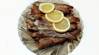 Путассу жареная! Маленькая рыбка, да удаленькая и очень вкусная!