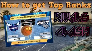 How to get TOP ranks in Rivals clash!! - MyNBA2K19 #4