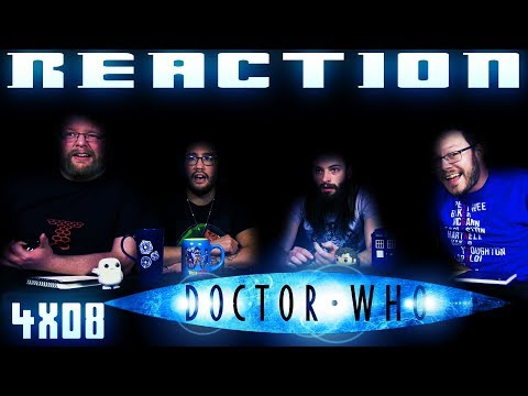 "Doctor Who 4x8 REACTION!! ""Silence in the Library"""