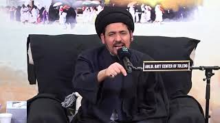 السيد منير الخباز   كل إنسان يشعر بالغربة والوحدة