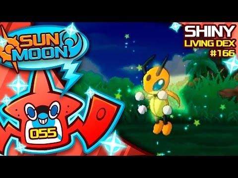 FINALLY! SHINY LEDIAN Reaction! Quest For Shiny Living Dex #166 | Pokemon Sun Moon Shiny #55