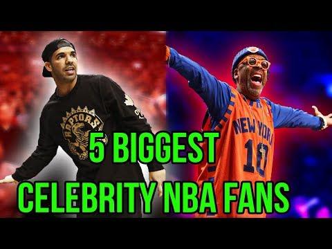 5 Biggest Celebrity NBA Fans of All-Time