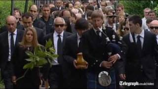 European golf icon Seve Ballesteros given emotional farewell at home town funeral