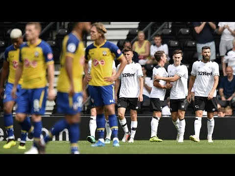 SHORT MATCH HIGHLIGHTS | Derby County Vs Southampton