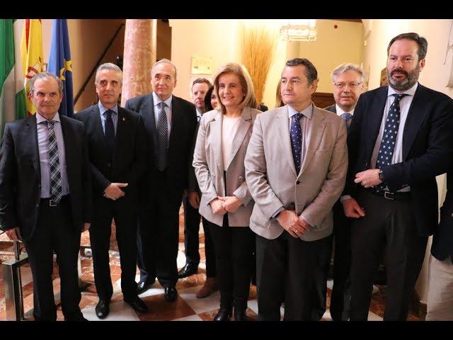 VÍDEO: La Ministra de Empleo, Fátima Báñez, participa en el I Foro Empresarial organizado por Gestoría Aras