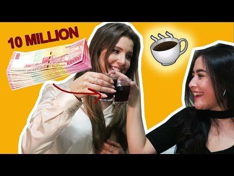 I DRANK A $10 MILLION RUPIAH COFFEE!   Amanda Cerny ft. Prilly Latuconsina