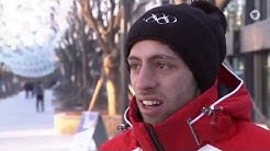 Skispringen - der türkische Außenseiter Ipcioglu