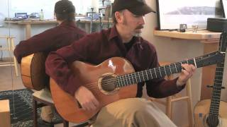 Mark Taylor Visits Stansell Guitars