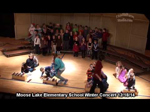 Moose Lake Elementary School Winter Concert 12 18 14