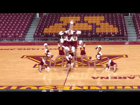 University Of Minnesota Dance Team Pom 2018