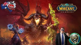 World of Warcraft Classic 🧙 Live Game Play - Come Raid!!!