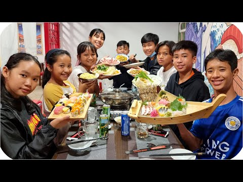 Team Tony Đại Náo Nhà Hàng Nhật Bản
