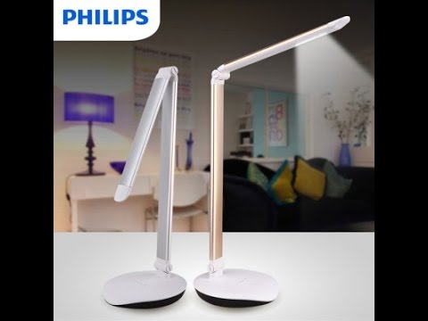 Cool Desk Lamp philips 4-level touch dimming led desk lamp review - a really cool