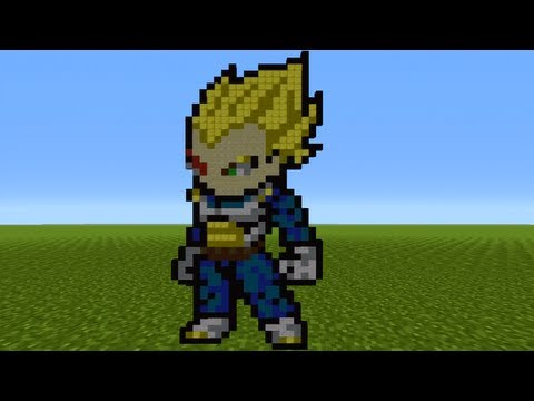 how to make goku ssgss in minecraft