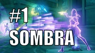 Codey #1 Sombra 53% Weapon Accuracy INSANE Gameplay | Hanamura | Overwatch Pro Gameplay