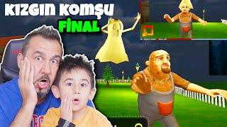 KIZGIN KOMŞU FİNAL! TÜRLÜ ŞAKALAR YAPTIK! | SCARY NEIGHBOR 3D OYNUYORUZ!