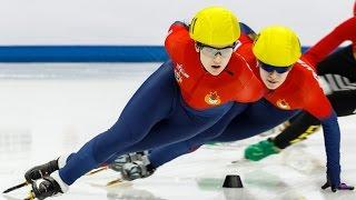 В Сочи завершились соревнования в шорт-треке на дистанции 1000 м III зимних Всемирных военных игр