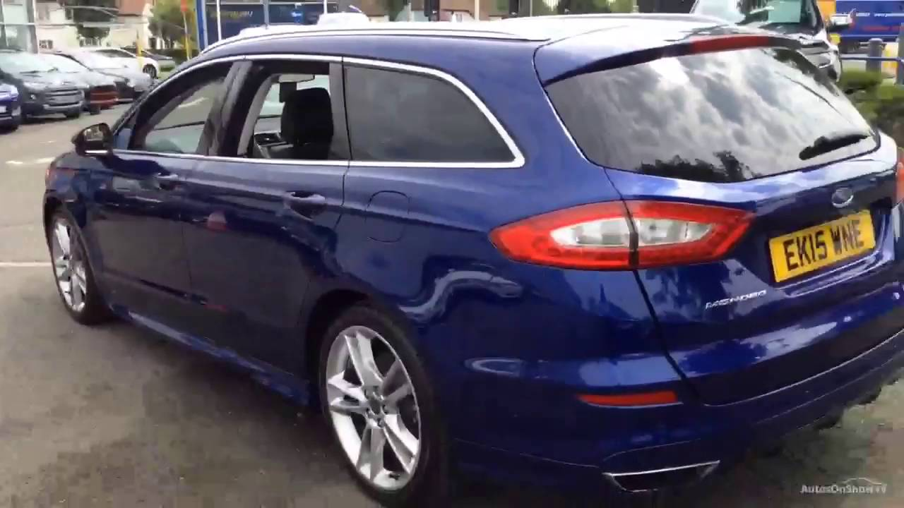 ford mondeo titanium blue 2015 youtube. Black Bedroom Furniture Sets. Home Design Ideas