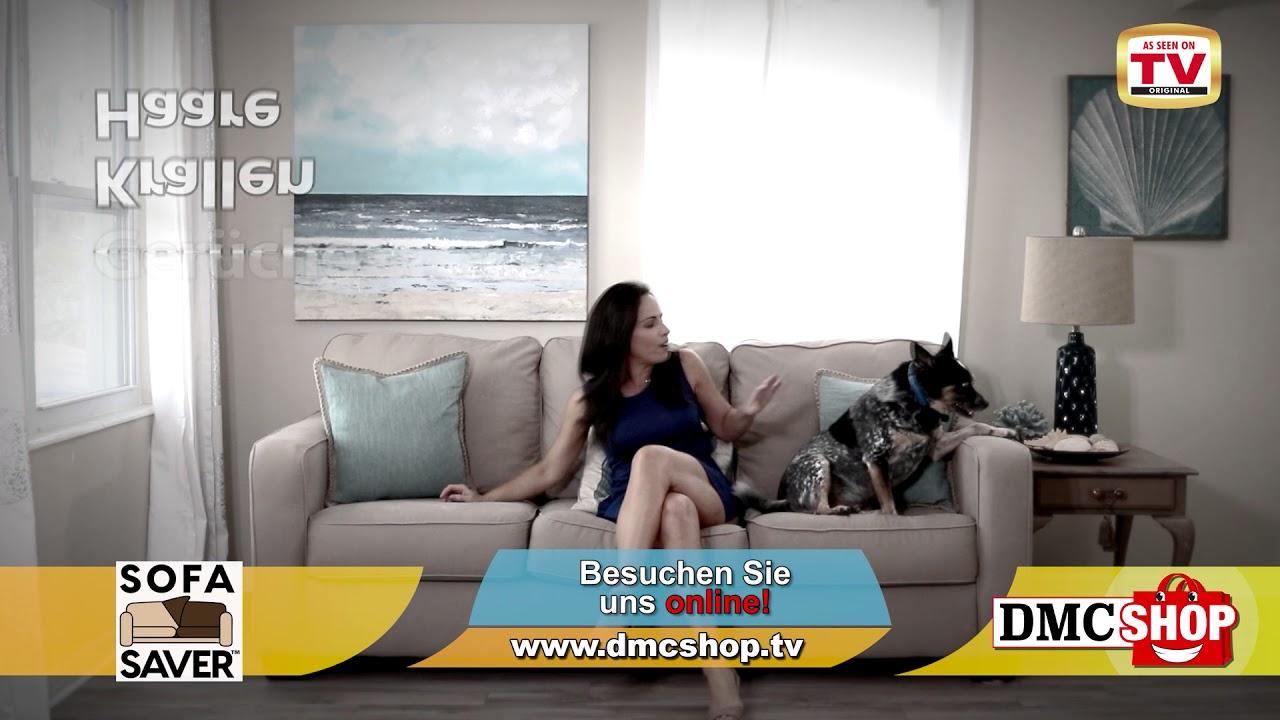 Dmc Shop Sofa Saver Elegant Bequem Und Einfach Youtube