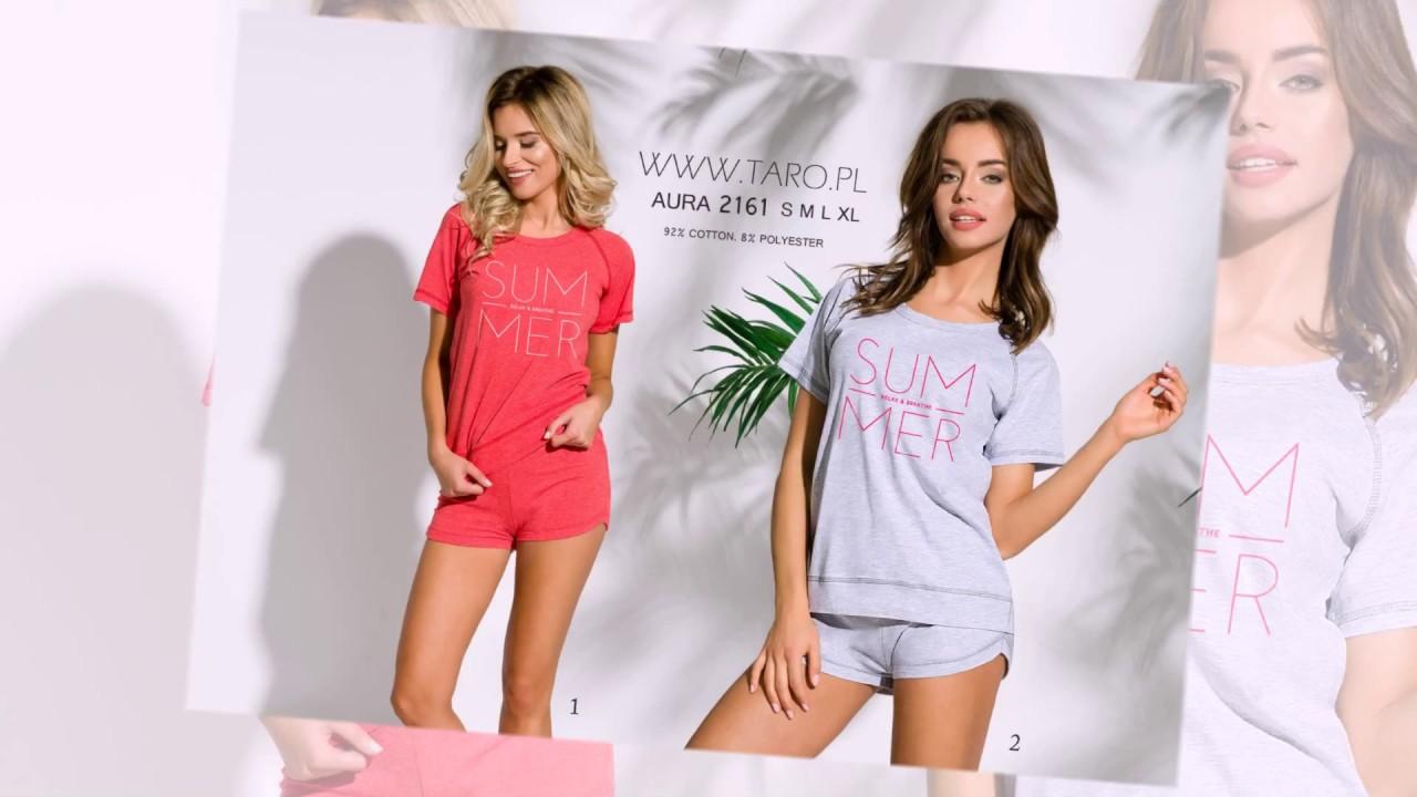 5a8f6529bd75 Пижамы и ночные сорочки -коллекция Taro весна-лето 2018 - relish.com.ua