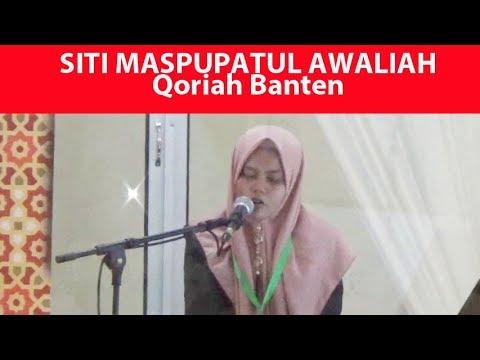 Qoriah Asal Banten Ini Meraih Juara III Qiraat Sab'ah Murattal Remaja MTQ Nasional