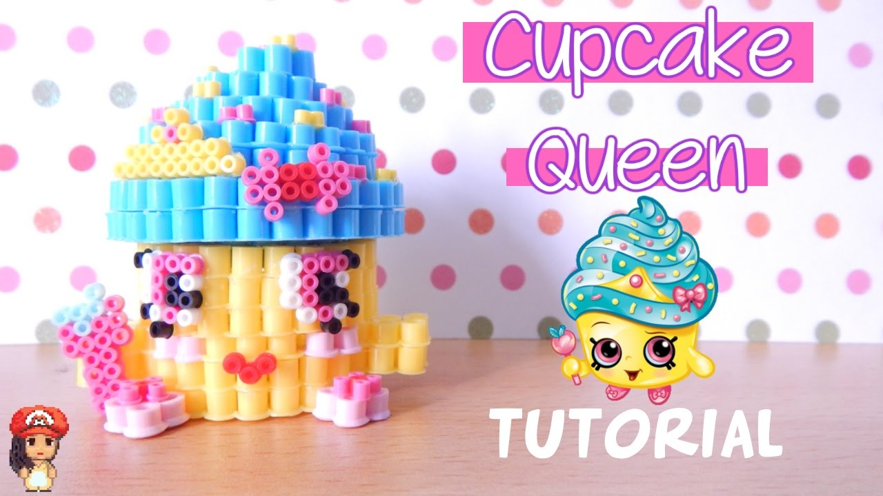 how to draw shopkins cupcake queen