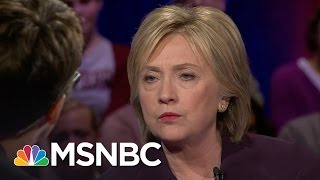 Hillary Clinton On Addressing Problems In South | Democratic Forum | MSNBC
